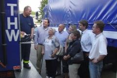 Informationsbesuch beim Technischen Hilfswerk, Marburg