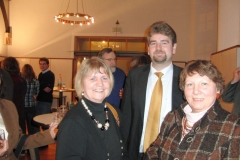 2011 Abschluß Allianzgebetswoche, Wieland Stötzel, Elke Werner, Anni Röhrkohl