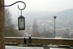Sichtachse vom Schloss zur Elisabethkirche